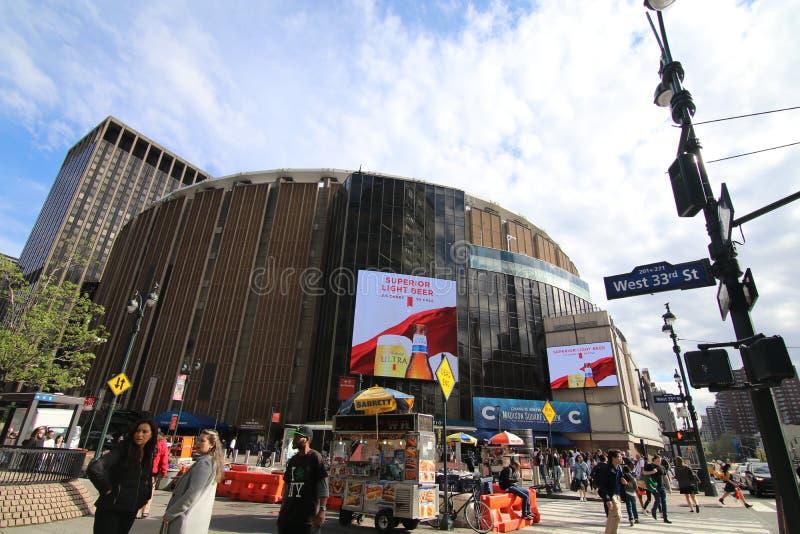 Madison Square Garden New York City Editorial Stock Image Image