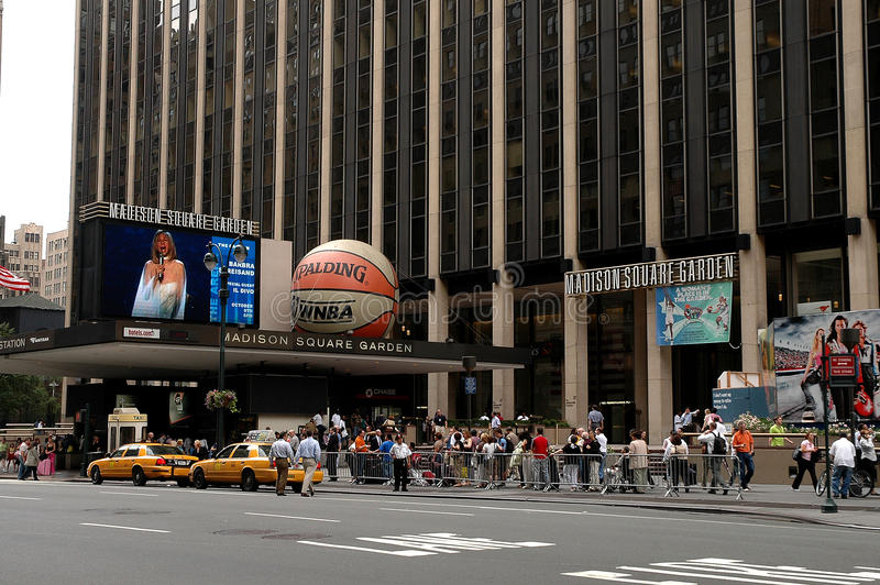 Download Madison Square Garden, NYC editorial image. Image of rich - 18433425