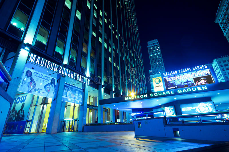 Madison Square Garden NYC images stock