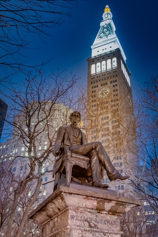 Madison Square in New York, United States. Madison Square Park in New York City, United States of America stock photos