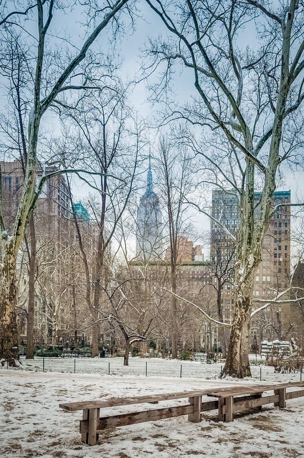 Madison Square in New York, Verenigde Staten royalty-vrije stock afbeeldingen