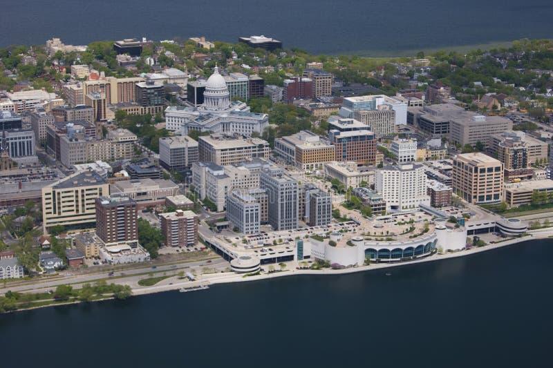 Madison Wisconsin stock image