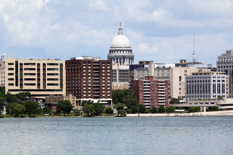 Madison Wisconsin arkivbild