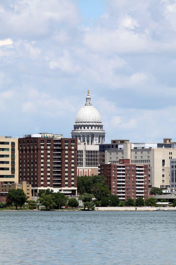 Madison Wisconsin fotografia stock