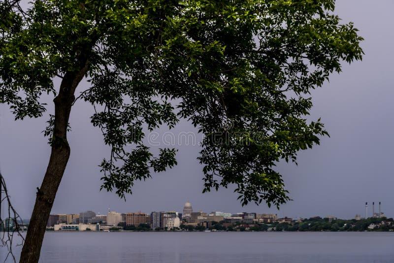 Madison Wisconsin Skyline photo libre de droits