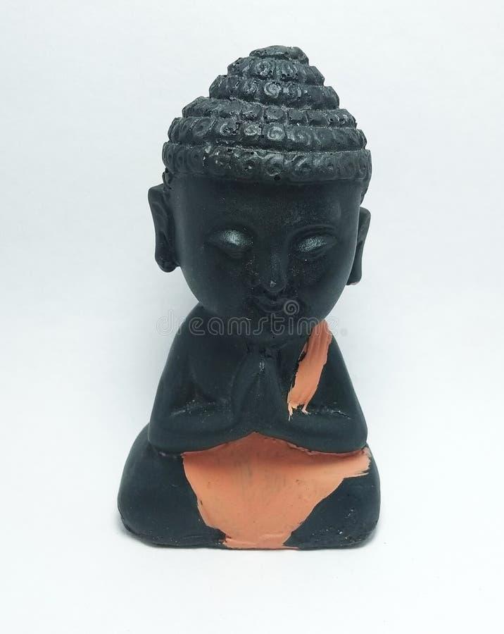 Maditing Buddha obrazy stock