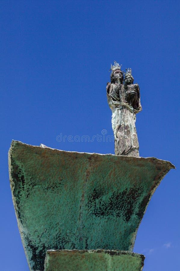 Sardinia. Cagliari. Sanctuary of Nostra Signora di Bonaria stock photo