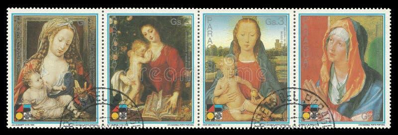 Madonna con el niño fotos de archivo libres de regalías