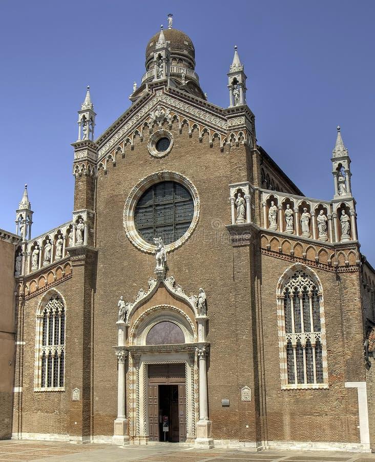 Madonna dell?Orto, Cannaregio, Venedig stockbild