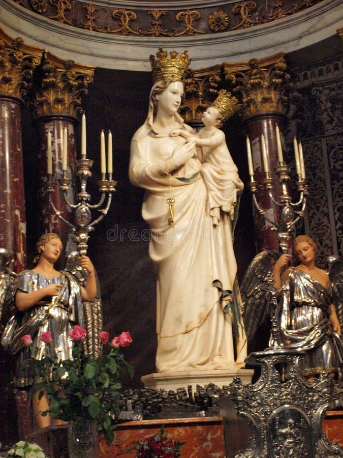 Madonna di Trapani, Trapani, Sicilia, Italia fotografia stock libera da diritti