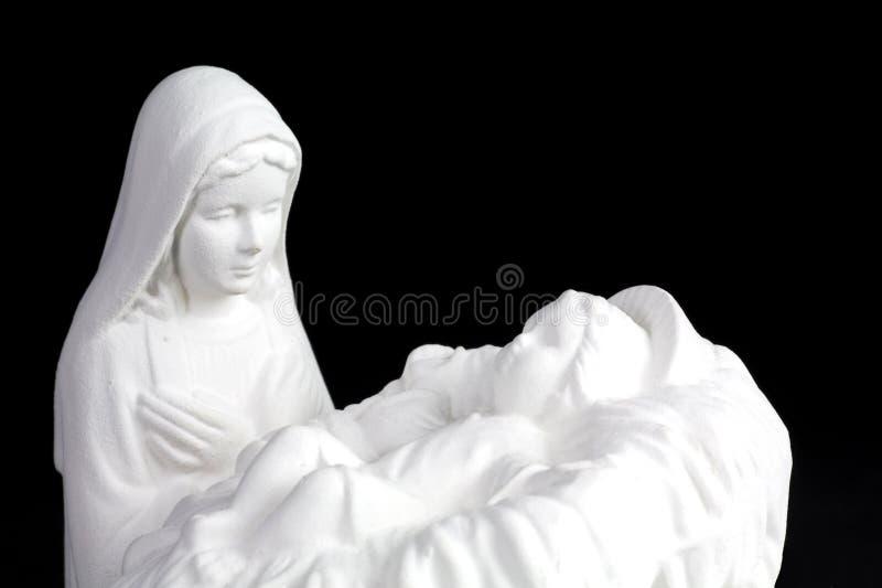 Madonna e bambino immagini stock libere da diritti