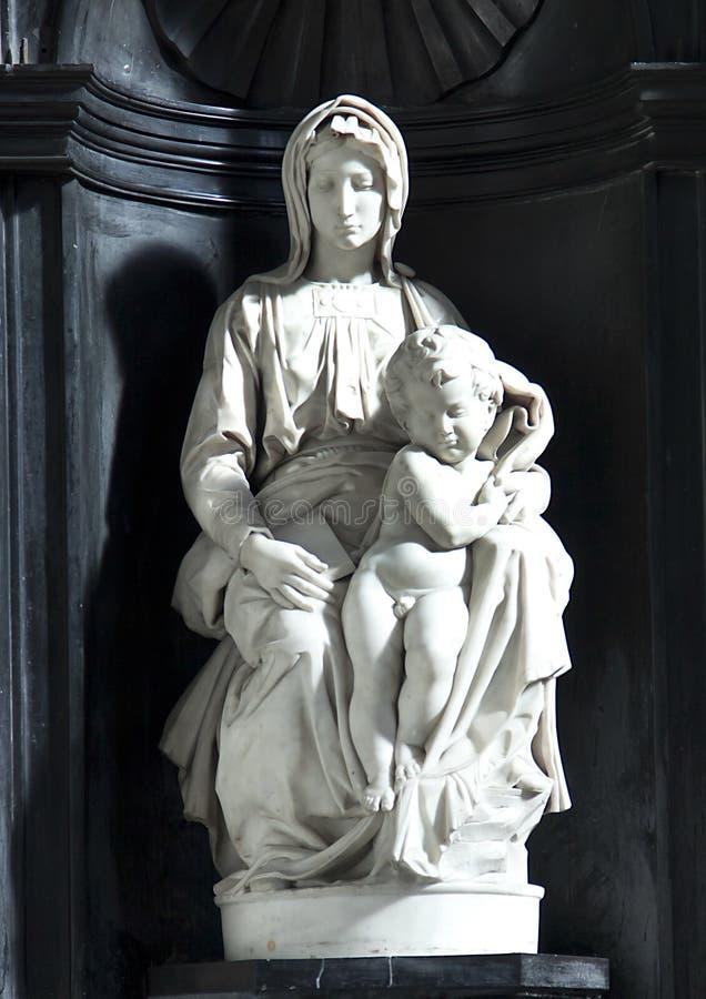 Madonna e bambino fotografia stock libera da diritti
