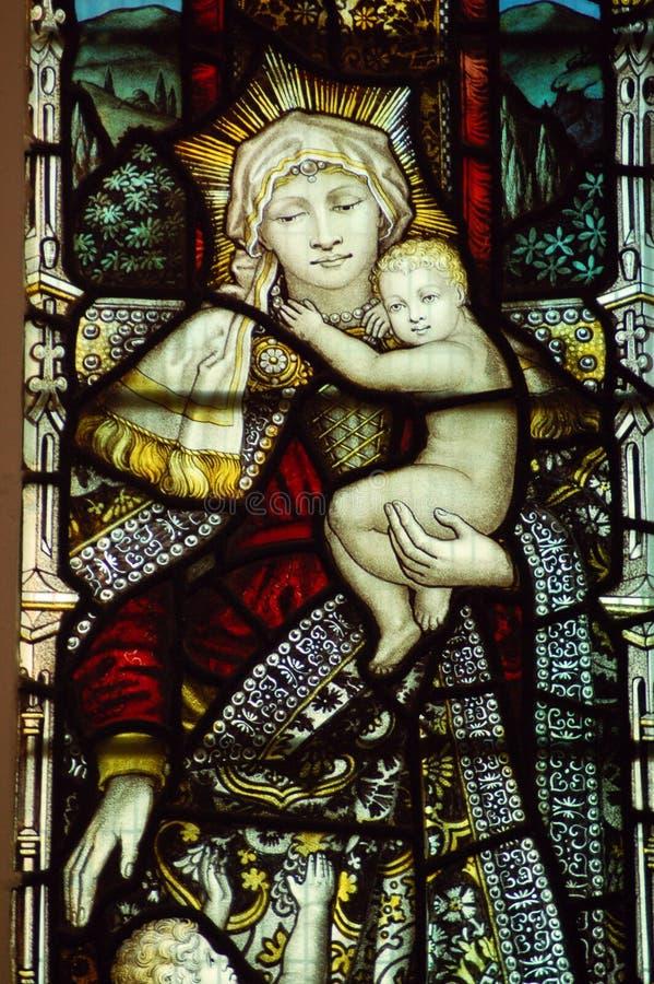 Madonna en Kind stock afbeeldingen
