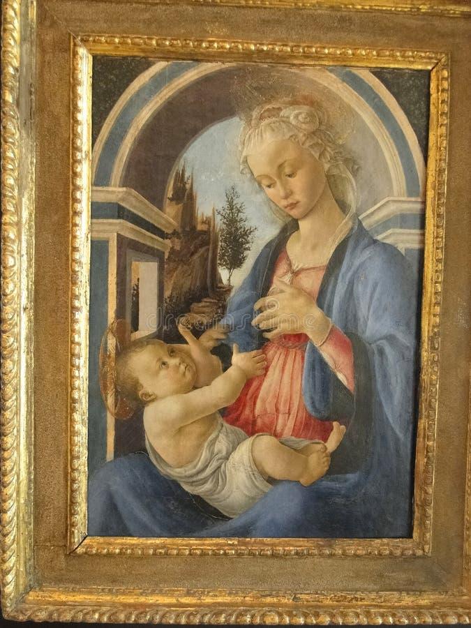 Madonna i dziecko zdjęcie royalty free