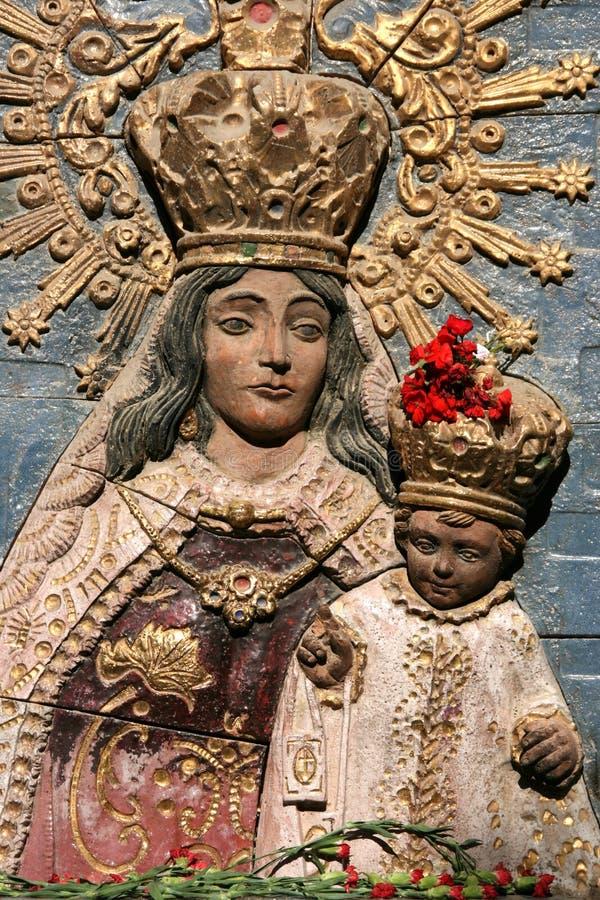 Madonna met het Kind royalty-vrije stock fotografie