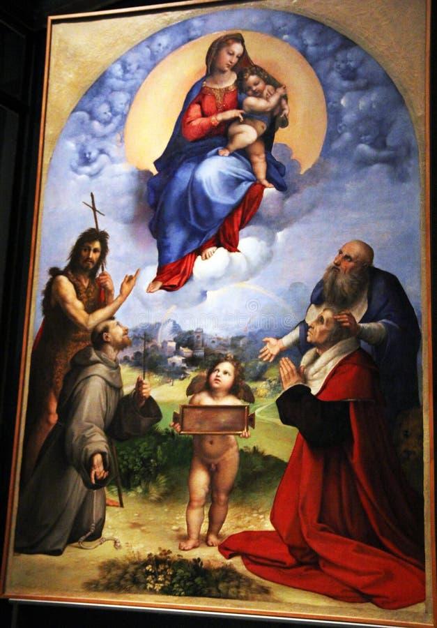 Free Madonna Of Foligno Stock Photo - 97023600