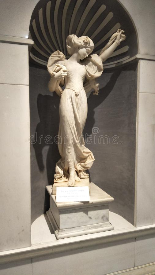 madonna tła wyznania stara posąg obrazy stock