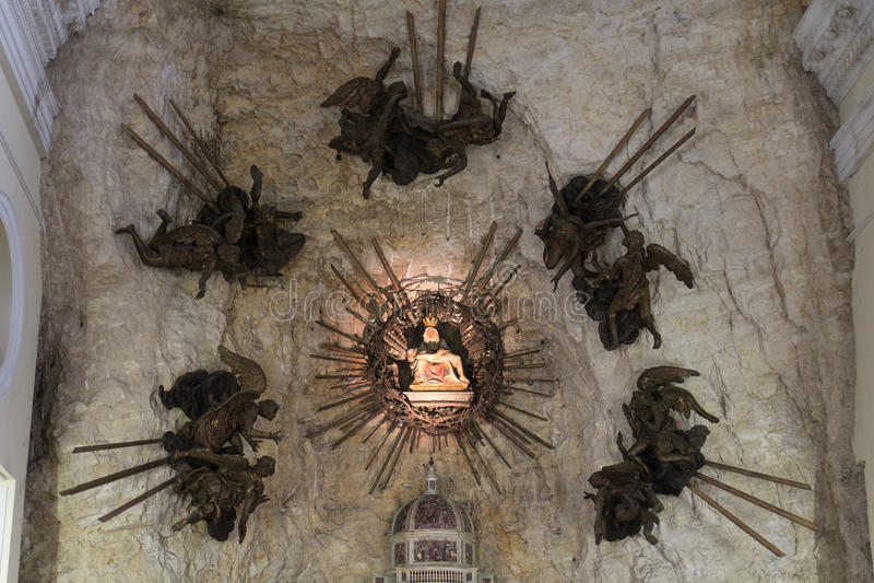 Madonny della korony słonecznej sanktuarium zdjęcia stock