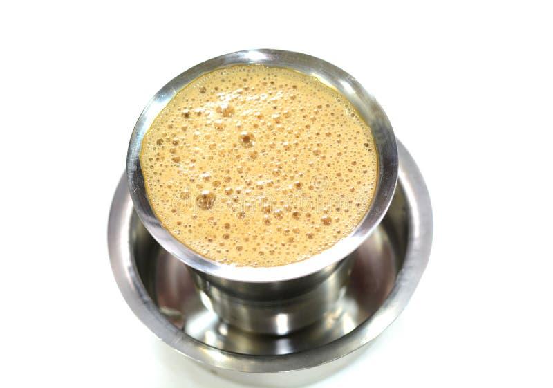 Madras filterkaffe arkivbilder