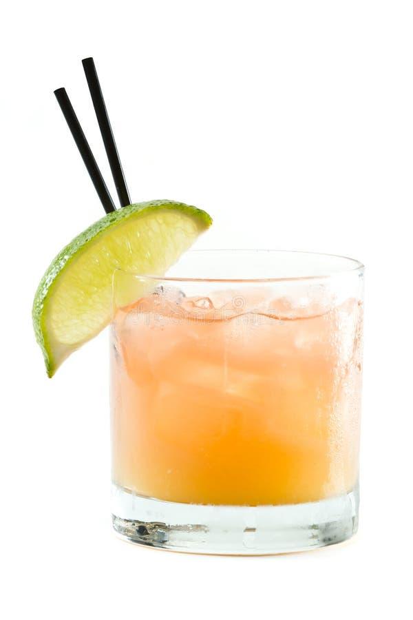 Madras, vodka, tranbär och orange fruktsaft arkivbild