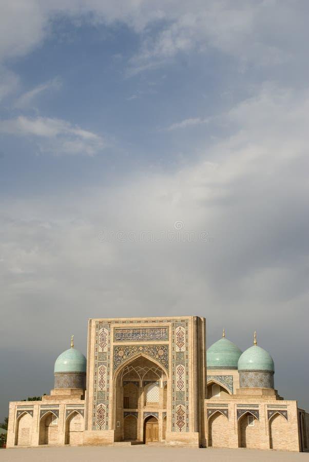 Madrasa of Burokhon stock images