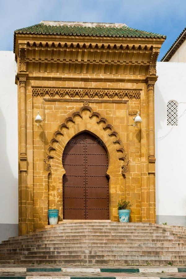 Madrasa Marinid Salé, Рабат-продажи, Марокко стоковые изображения rf