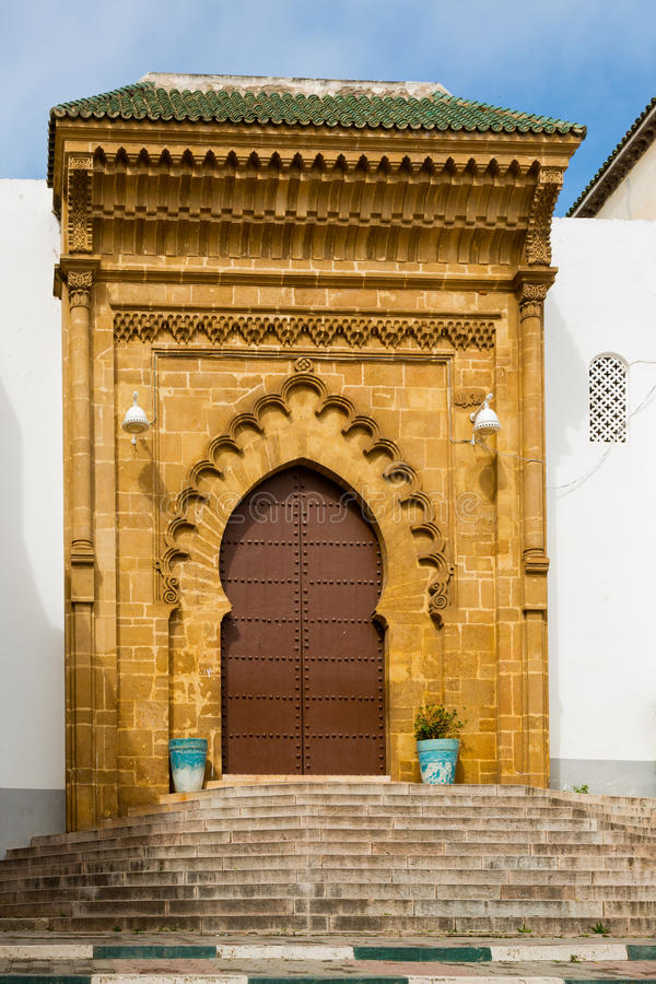 Madrasa Marinid van Salé, Rabat-Verkoop, Marokko royalty-vrije stock afbeeldingen