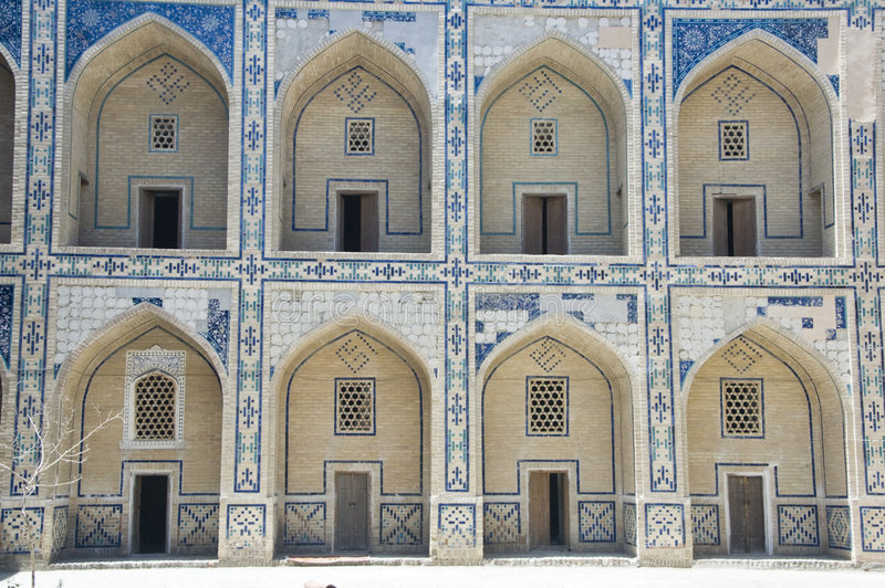 Download Madrasah in Bukhara stock image. Image of ancient, exterior - 7968987