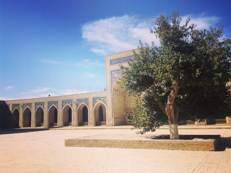 Madrasah em Usbequistão fotografia de stock royalty free