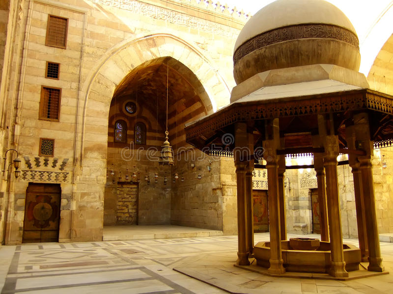 Download Madrasah Mausoleum And Mosque, Qalawun Complex, Cairo Stock Image - Image: 34306913