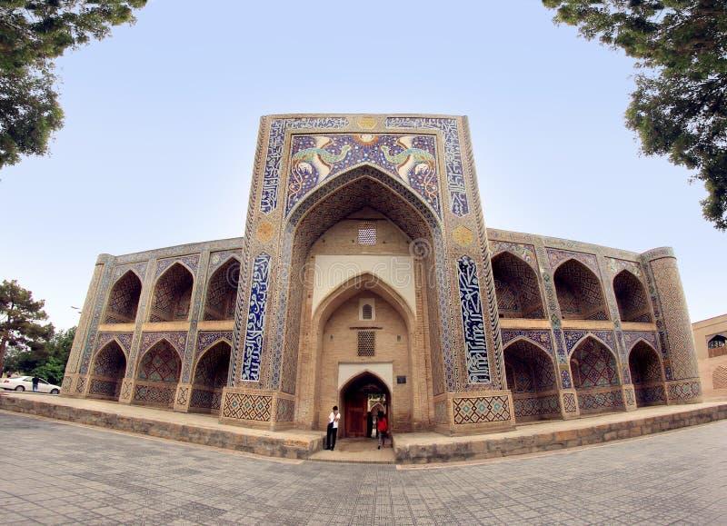 Madrasah nodir-ντιβάνι-Begi στην πόλη της Μπουχάρα, Ουζμπεκιστάν στοκ εικόνα με δικαίωμα ελεύθερης χρήσης