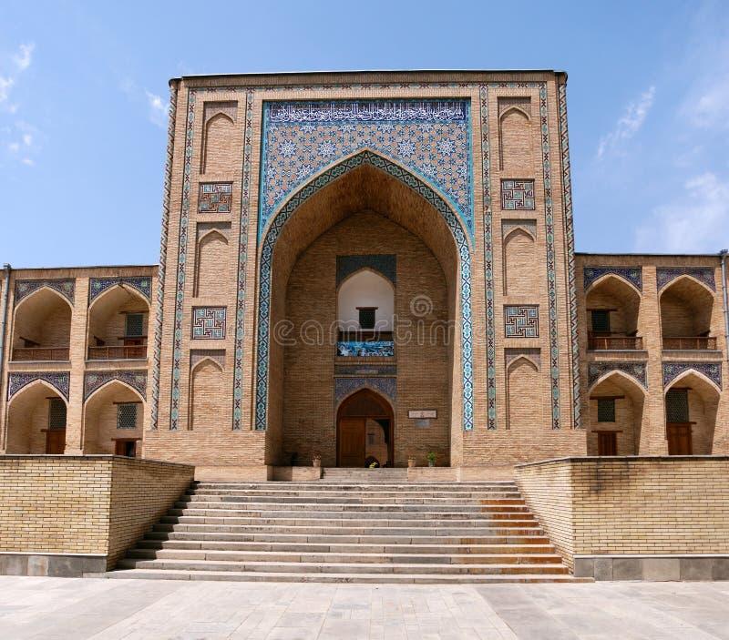 Madrassah kukeldash - Tashkent fotografia stock