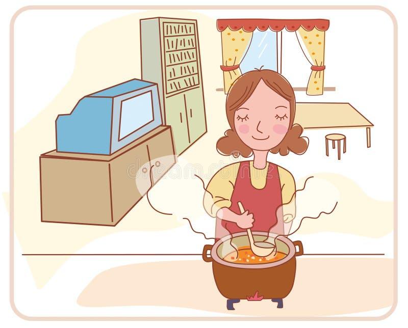 Madre stock de ilustración