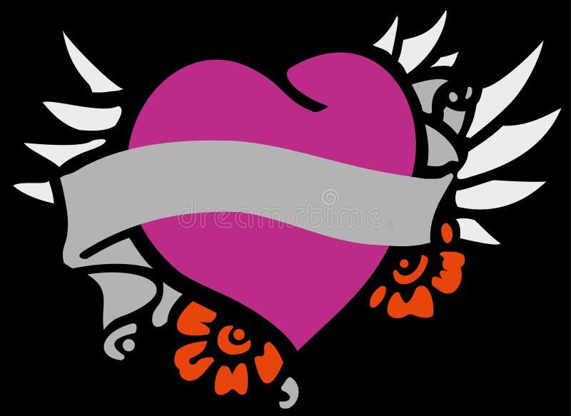 Madre 4 del corazón ilustración del vector