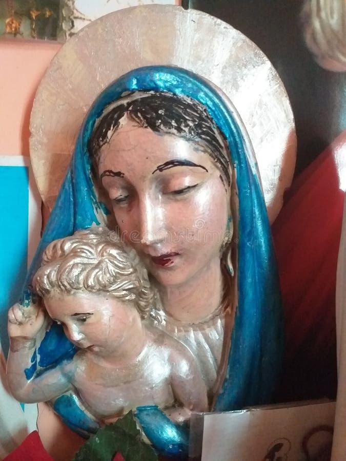 Madre compasiva Maria de la Virgen fotos de archivo libres de regalías