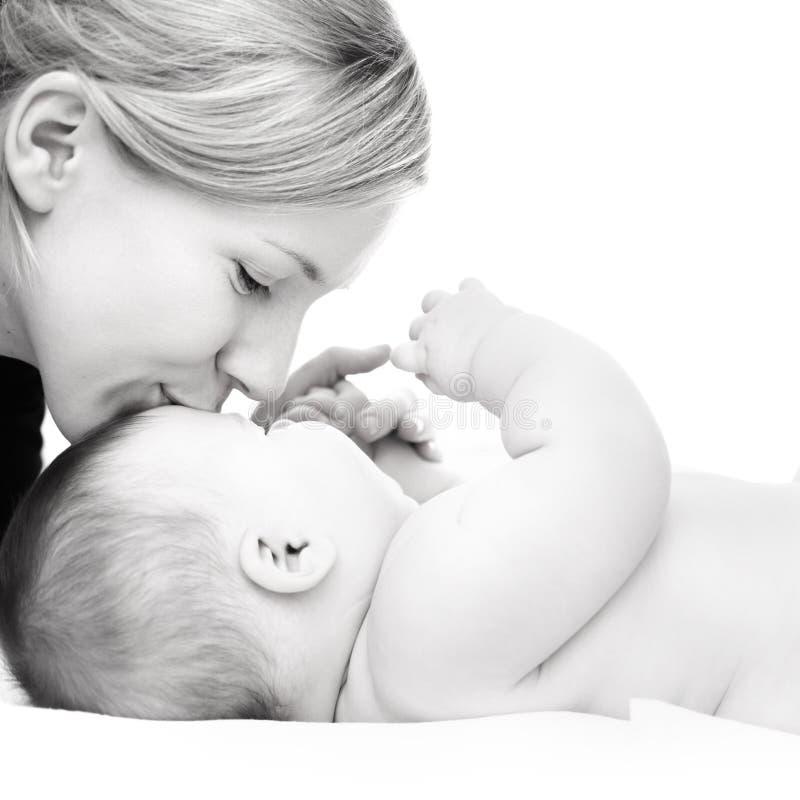 Madre con el bebé