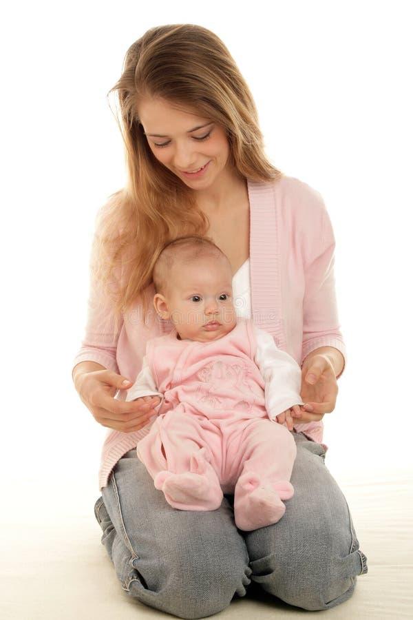 Madre con il bambino immagini stock