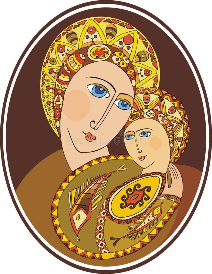 Madre del dio royalty illustrazione gratis