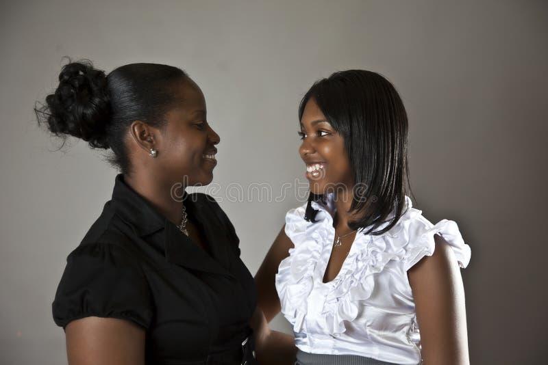 Madre e figlia fotografie stock