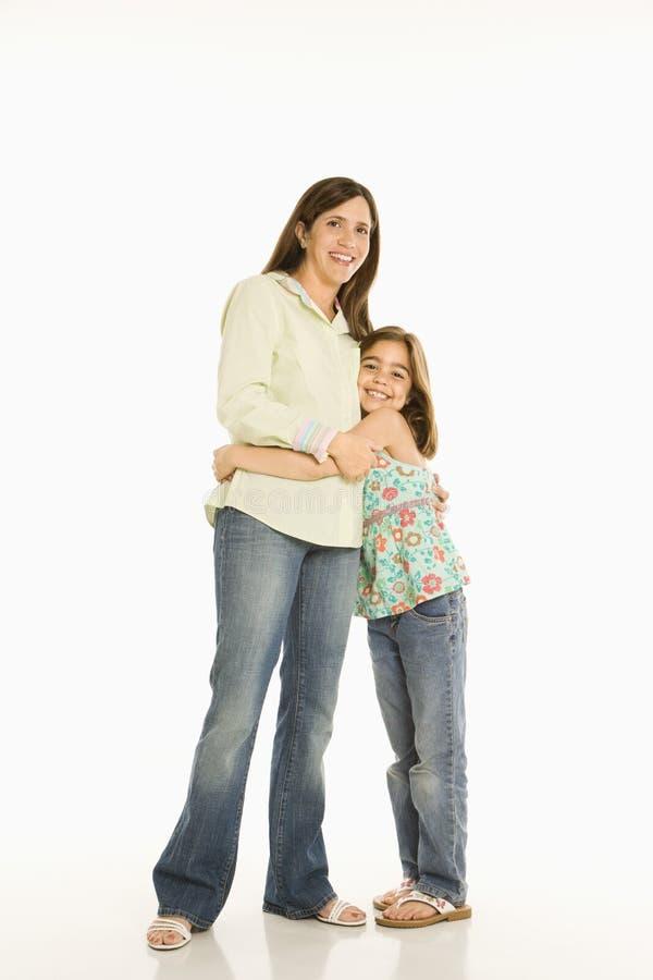 Madre e figlia. immagine stock libera da diritti
