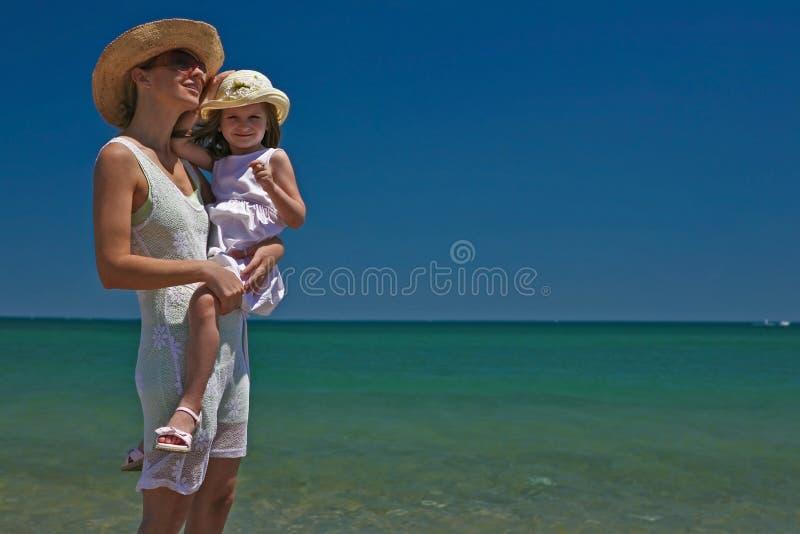 Madre e figlia. fotografia stock libera da diritti