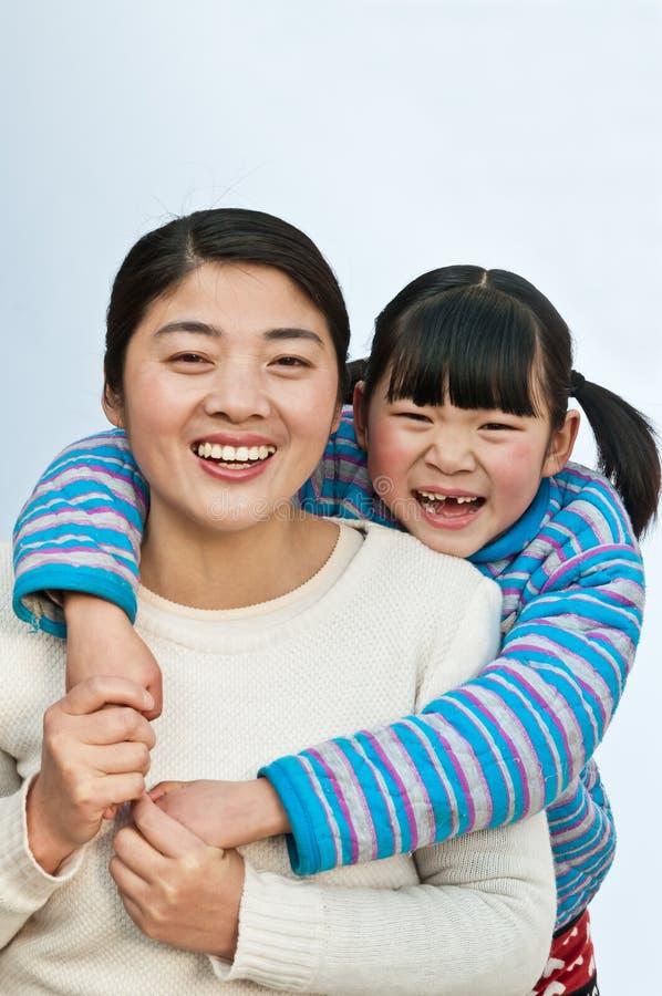 Download Madre e figlia felici fotografia stock. Immagine di femmina - 30826964