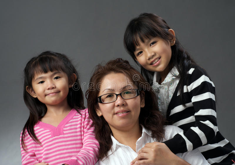 Madre e figlie immagini stock libere da diritti