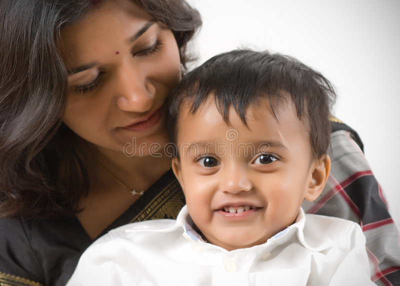 Madre e figlio immagine stock