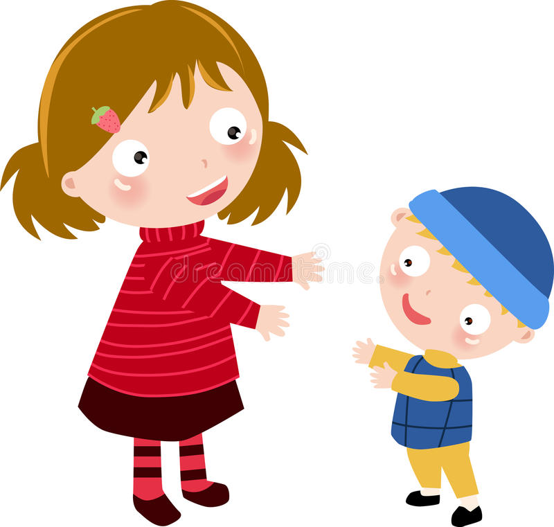 Madre e hijo libre illustration