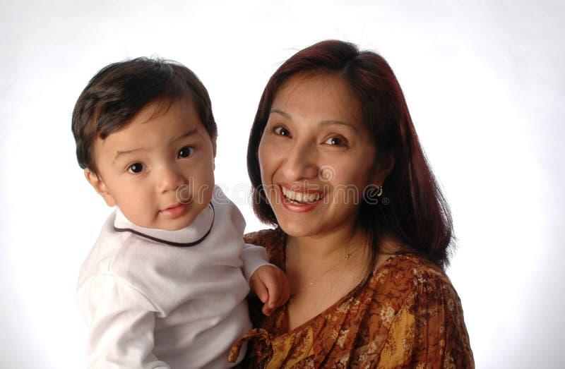 Madre e hijo imagenes de archivo