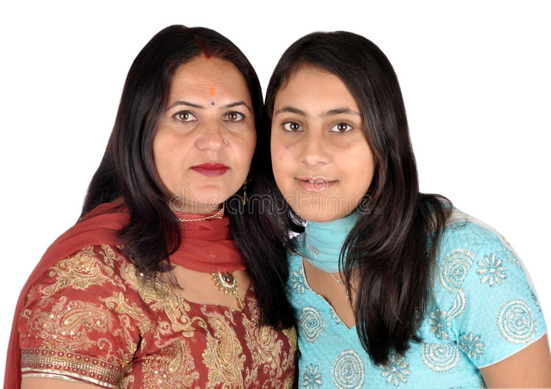 Madre e la sua figlia fotografia stock libera da diritti