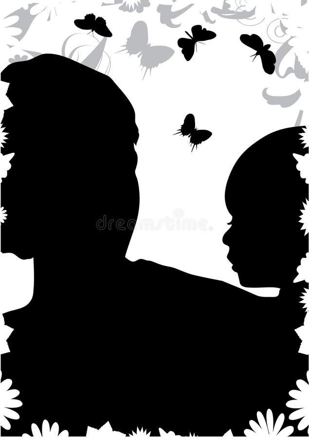 Madre e san royalty illustrazione gratis