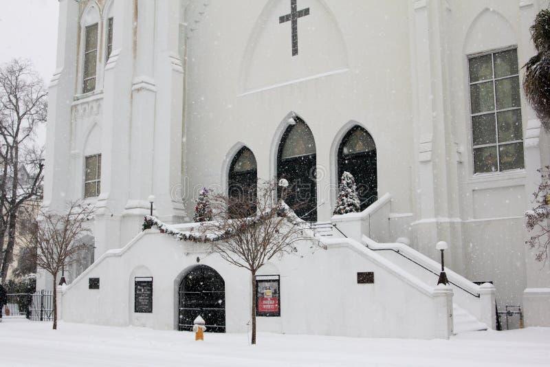 Madre Emmanuel Church, Charleston, Sc immagini stock
