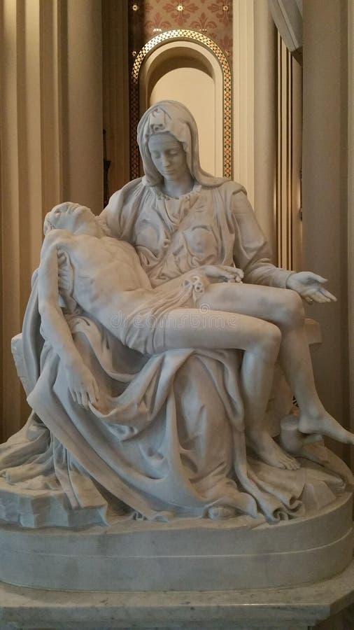 Madre Maria con Cristo fotografia stock libera da diritti